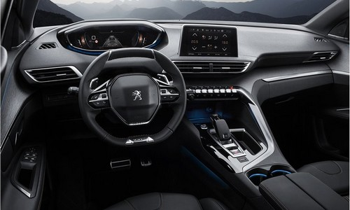 interior peugeot mock-up