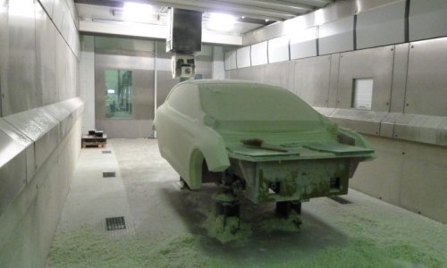 resin milling automotive / fraisage résine automobile